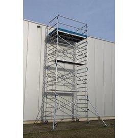 ASC ® Alu-Rollgerüst 135-250 bis 12,30 m, Profi