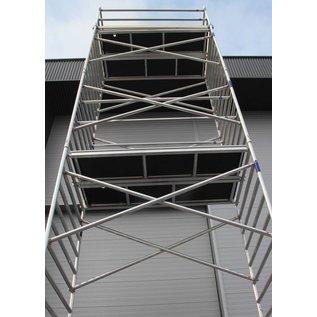Alu-Rollgerüst 135-250 bis 12,30 m, Profi-Gerüst nach DIN-EN 1004 & 1298