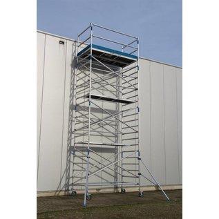 ASC ® Alu-Rollgerüst 135-250 bis 14,30 m, Profi-Gerüst nach DIN-EN 1004 & 1298