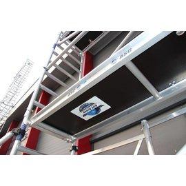 ASC ® Alu-Rollgerüst 75-305 bis 4,30 m, Profi