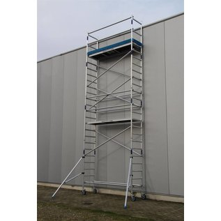 ASC ® Alu-Rollgerüst 75-305 bis 7,30 m, Profi-Gerüst nach N-EN 1004 & 1298
