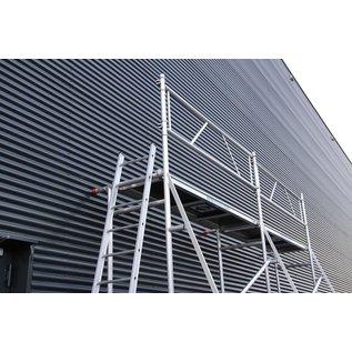 ASC ® Malergerüst, Schnellgerüst, Mini-Fassadengerüst, Blitzgerüst bis 5,0 m Arbeitshöhe