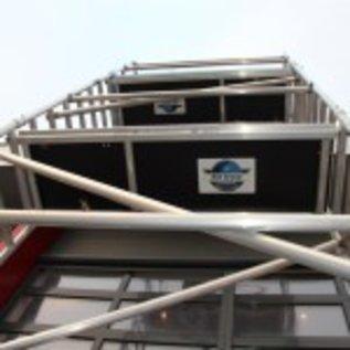 Alu-Rollgerüst 75-305 bis 5,30 m, Profi-Gerüst nach N-EN 1004 & 1298