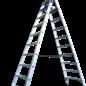 ASC ® Doppeltritt 2 x 11 mit Sicherheitsbügel