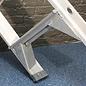 ASC ® Trittleiter / Klapptritt 1 x 12 mit Werkzeugablage