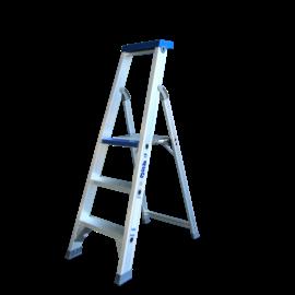 ASC ® Trittleiter / Klapptritt 1 x 3 mit Werkzeugablage