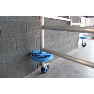 AC Steigtechnik 4 Stück Abstandshalter / Rammschutz aus festem Schaumgummi