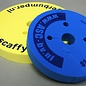 ASC ® 4 Stück Abstandshalter / Rammschutz aus festem Schaumgummi