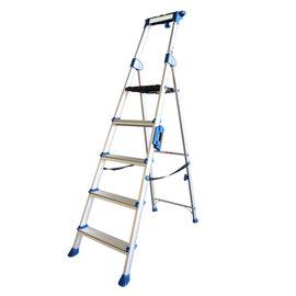 """Alumexx """"UP"""" Stufenstehleiter mit extra breiten Stufen"""