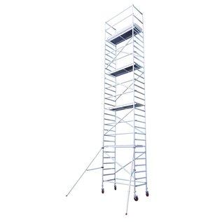 """AC Steigtechnik """"Basic-M"""" Typ 4, mit 200 mm Rollen, Arbeitshöhe max. 10,30 m"""