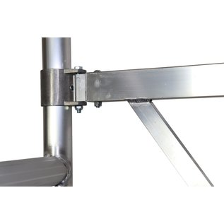 AC Steigtechnik AC xPress PRO-S Zimmerfahrgerüst, Rollgerüst, Grundmodul, TÜV/GS geprüft