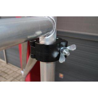 AC Steigtechnik Alu-Rollgerüst 135-305 bis 6,30 m, Profi-Gerüst nach DIN-EN 1004 & 1298, TÜV/GS