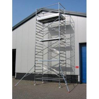 ASC ® Alu-Rollgerüst 135-305 bis 4,30 m, Profi-Gerüst nach DIN-EN 1004 & 1298, TÜV/GS