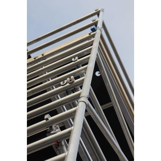 AC Steigtechnik Alu-Rollgerüst 135-305 bis 13,30 m, Profi-Gerüst nach DIN-EN 1004 & 1298, TÜV/GS