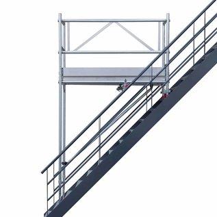 AC Steigtechnik AC Treppenhaus-Gerüst, Treppen-Gerüst 4,10 bis 6,10 m, erweiterbar