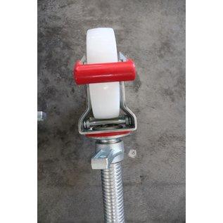 Gerüst-Outlet SET Gerüstrollen 150 mm kompatibel zu Layher* - Gerüsten, 4 Stück
