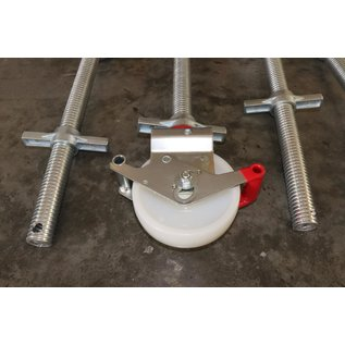 Gerüst-Outlet Gerüstrolle 150 mm, kompatibel zu Layher* - Gerüsten