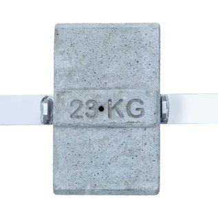 AC Steigtechnik Dachrand-Sicherung, Flachdach-Absturzsicherung, DIN EN 13 374, Schutzklasse B
