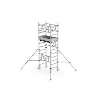 ALTREX ALTREX Mi-TOWER: Alu-Rollgerüst 75-120 / 4,20 bis 6,20 m, Profi-Gerüst DIN-EN 1004 & 1298, TÜV/GS
