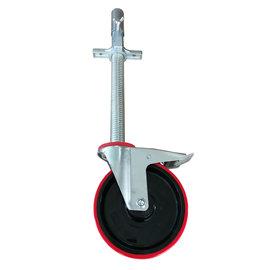 AC Steigtechnik Gerüstrolle 200 mm mit Stahlspindel und Zentrier-Hülse