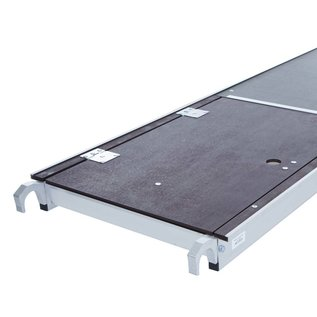 "AC Steigtechnik Zimmerfahrgerüst XL, ""xPress PRO-L"" Rollgerüst, große Plattform, TÜV/GS geprüft"