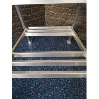ASC ® Ausstellungsstück Montagetritt 2 Stufen, Standhöhe 51 cm