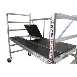 "AC Steigtechnik AC Zimmerfahrgerüst xPress ""PRO-M"", breite Plattform, AH 3,0 m"