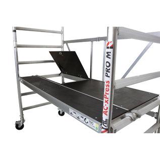 AC Steigtechnik Zimmerfahrgerüst, Rollgerüst, XL-Plattform mit Luke, Faltgerüst, Rollrüstung