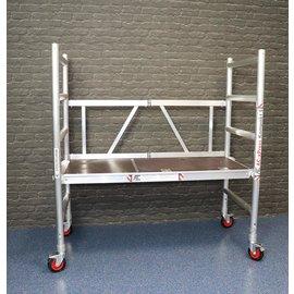 AC Steigtechnik AC xPress Kompakt S, Zimmerfahrgerüst, Rollgerüst mit 145 cm Plattformlänge