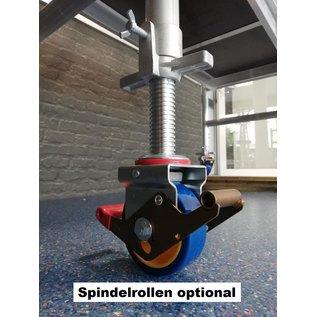 AC Steigtechnik AC xPress Kompakt S, Zimmerfahrgerüst, Rollgerüst mit 145 cm Plattformlänge, erweiterbar