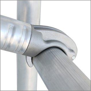 ALU-WORX ALUWORX - ProTube F Standard Klappgerüst, Fahrgerüst bis  7,50 m Arbeitshöhe (5,50 m Plattformhöhe)