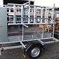 AC Steigtechnik AC Gerüstanhänger X-Safe 250, abschließbar,  inkl. Gerüst bis 12,30 m, 135er Rahmen, zum komfortablen Gerüsttransport, 100 km/h-Zulassung möglich