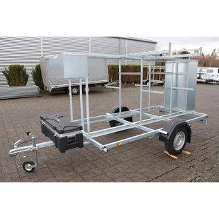 AC Steigtechnik Gerüstanhänger, abschließbar,  zum komfortablen Gerüsttransport, 100 km/h-Zulassung möglich