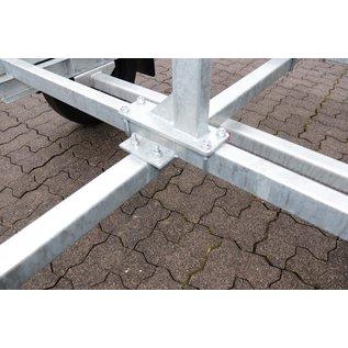 AC Steigtechnik Gerüstanhänger BASIC zum komfortablen Gerüsttransport