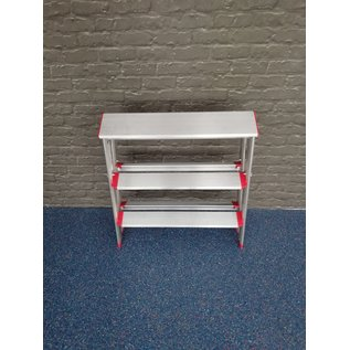 Rise-Tec Rise-Tec Stufentritt doppelseitig, 650 mm Breite, RedLabel