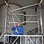AC Steigtechnik AC Vorlaufgeländer VARIO, Montage-Schutzgeländer temporär für AC STEIGTECHNIK Rollgerüste