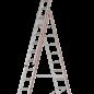 HYMER HYMER Mehrzweckleiter, dreiteilig, Standard 4047