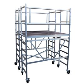 AC Steigtechnik Kombi-Rollbock XL, Arbeitsfläche 1,90 x 1,85 m, Arbeitshöhe bis 5,50 m