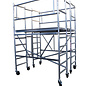 AC Steigtechnik Kombi-Rollbock XL, 4 Gerüste in Einem, ZiFa, Rollgerüst, Montagebühne und große Arbeitsplattform