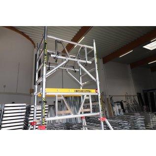 AC Steigtechnik AC  SAFE xPress, Ein-Personen-Gerüst mit vorlaufendem Geländer