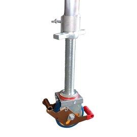 Gerüst-Outlet 1 Stück Gerüstrolle 125 mm, universal kompatibel