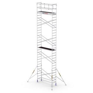 ALU-WORX ALU-WORX PRO Tube-S Standard, 185 x 75 Rollgerüst 4 - 10 Meter Arbeitshöhe