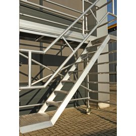 AC Steigtechnik Treppenturm 135-250 mit 4 m Arbeitshöhe