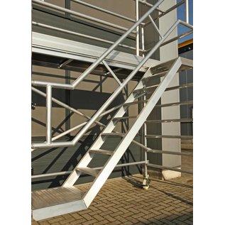 AC Steigtechnik Treppenturm, Gerüstturm mit 305 cm Plattformlänge, 135er Rahmenbreite