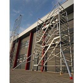 AC Steigtechnik Treppenturm 135-190 mit 6 m Arbeitshöhe