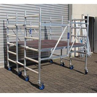 AC Steigtechnik Kombi-Rollbock L, 2 Gerüste in Einem, ZiFa, Rollgerüst, Montagebühne und große Arbeitsplattform