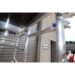 ASC ® Kombi-Rollbock L, 2 Gerüste in Einem, ZiFa, Rollgerüst, Montagebühne und große Arbeitsplattform