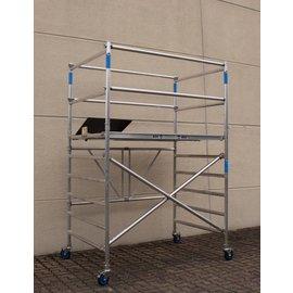 AC Steigtechnik Zimmerfahrgerüst XL-Knick, ZiFa, 3,9 m, extra große Arbeitsfläche