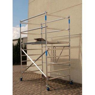 ASC ® Zimmerfahrgerüst XL-Knick, Rollgerüst, große Plattform, TÜV/GS geprüft