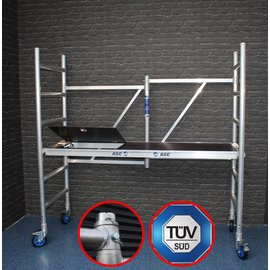 ASC ® Zimmerfahrgerüst, ZiFa, Klappgerüst mit Luke, 3,0 m